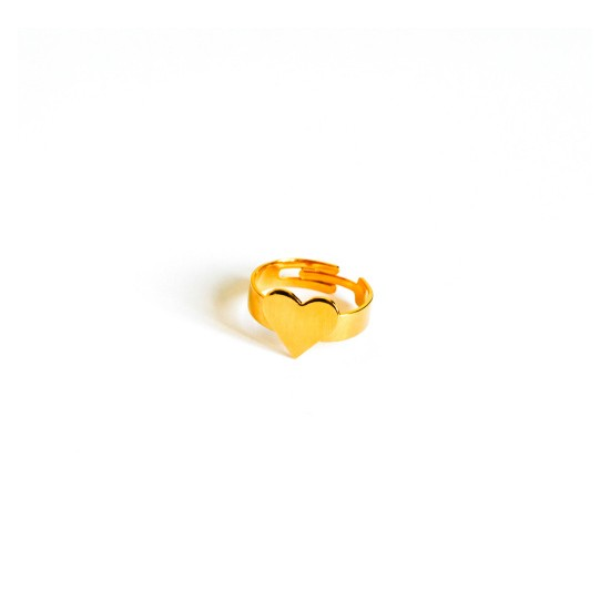 MEDAL RING HEART
