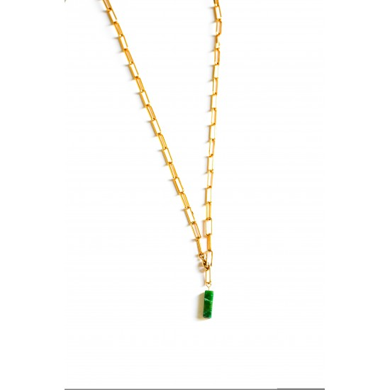 BILLIE PRASEM NECKLACE