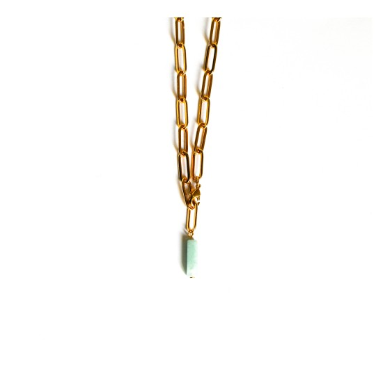 COLLIER BILLIE AMAZONITE